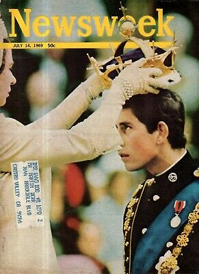 2019 Nuevo Estilo 1969 Newsweek Julio 14 - Charles Is Coronado Prince Of Wales ; Etiopía; Ben Het Resistencia A Las Arrugas