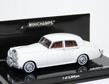 1:18 Minichamps Rolls Royce Silver Cloud II 1960 blue NEW bei PREMIUM-MODELCARS
