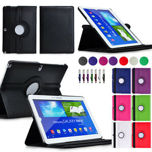 360-Rotating-Case-Cover-for-Samsung-Galaxy-Note-10-1-2014-Edition-P600-P601-P605