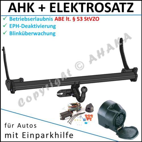 AHK ES-13 Peugeot 308 SW Break ab 2007 EPH-Abschaltung Einparkhilfe E-satz ES 13