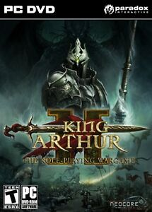 KING-ARTUR-2-THE-ROLE-PLAYNG-WARGAME-GIOCO-INGLESE-PC-DVD-ROM-VERSIONE-ITA