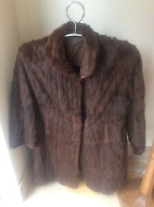 detailing new list order Superb Vintage HARRODS 1940s Mink Full Length Silk Lined Ladies ...
