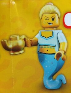 * Genie * Lego Minifigures Series 12 * Flambant Neuf, Scellé * Collection 71007, + Lampe