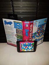 Pengo Game for Sega Genesis! Cart & Box