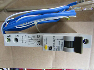 1 Pole Type B Residual Current Circuit Breaker Overload Protection 32A H76606910 - <span itemprop=availableAtOrFrom>Bicester, Oxfordshire, United Kingdom</span> - Returns accepted Most purchases from business sellers are protected by the Consumer Contract Regulations 2013 which give you the right to cancel the purchase within 14 days  - Bicester, Oxfordshire, United Kingdom