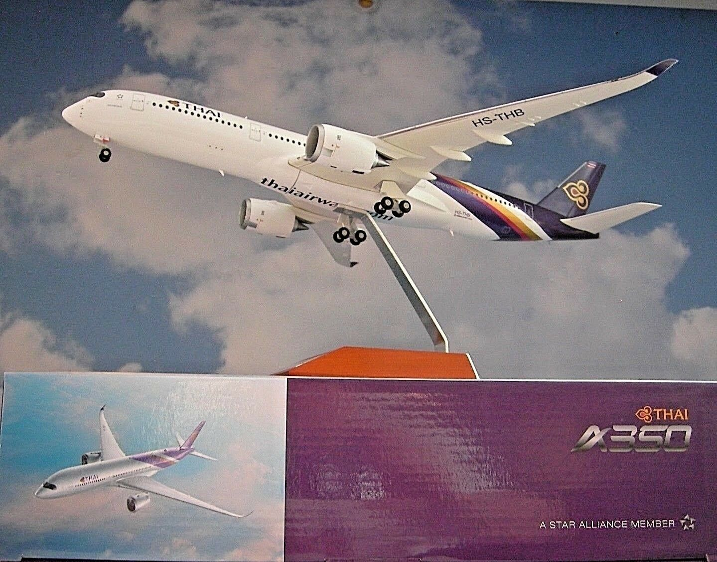 Herpa Wings 1 200  Airbus A350-900 XWB XWB XWB Thai Airways HS-THB  558259 516d32