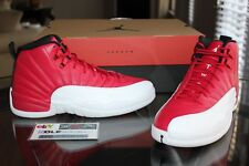 new product 66cb0 2ce7d Deadstock Air Jordan Retro 12 XII Gym Varsity Red White Black 120690-600  Size 11