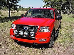 Details About Kc Hilites 7421 Black Front Light Bar 2004 2005 Ford F 150 4wd