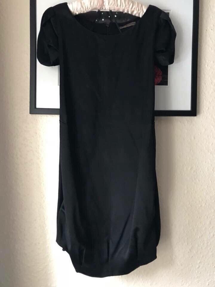 Alexander McQueen otoño 2008  Vestido Dobladillo Burbuja De Seda Negro 6-8 38-40  servicio de primera clase