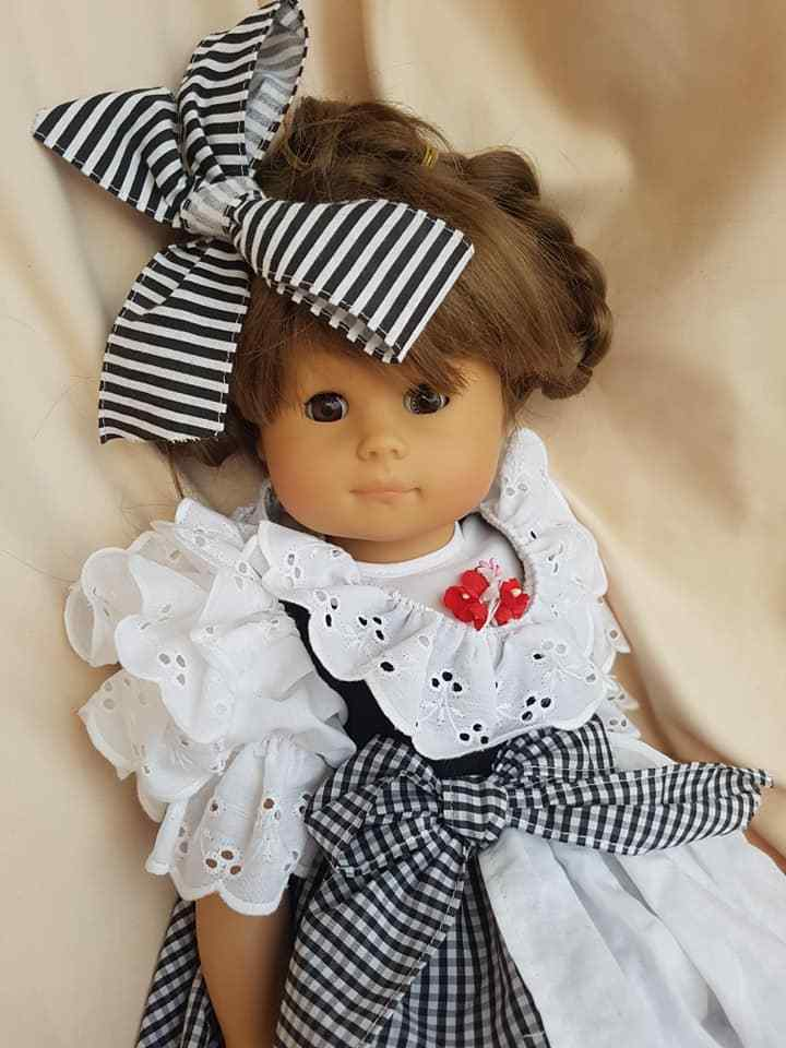 Bambola Gotz Poupée SOFT Doll vestiti originali Germany 47 cm NUOVA  PERFETTA