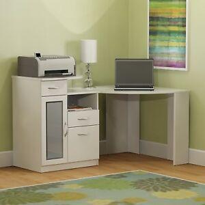 Image Is Loading Bush Furniture HM66115A 03 Wood Vantage Corner Desk