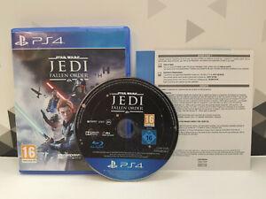 JEU SONY PS4 PLAYSTATION 4 STAR WARS JEDI FALLEN ORDER PAL FR