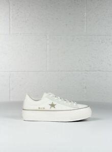 converse platform bianche one star