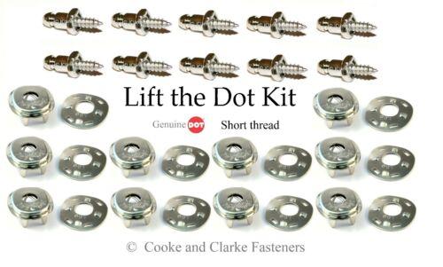 "Lift the dot fastener kit sockets 3//8/"" screw studs boat canopy bimini canvas"