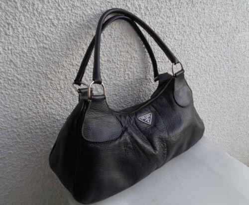 In Sac Cuir Made En Main À Authentique Bag Italy Prada Vintage Tbeg rYqnqTHt