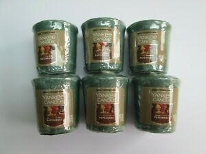 PATCHOULI Yankee Candle Votive Samplers x 6. VHTF. Rare ...