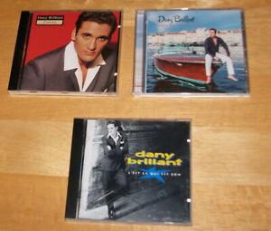 Lot de 3 cds Dany Brillant