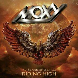 MOXY-40-YEARS-amp-STILL-RIDING-HIGH-USED-VERY-GOOD-CD