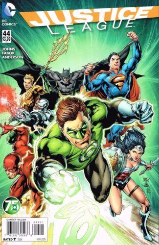 Justice League #44 (2014) Green Lantern 75th Variant DC Comics
