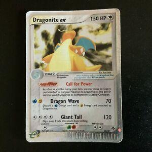 Dragonite ex - EX Dragon - Card Pokemon - 90/97 - Eng - Holo - No WOTC Poor