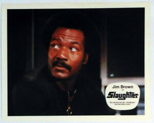 Jim Brown Slaughter >> Details About Jim Brown Slaughter Lobby Card 1973 Original Vintage Movie Still