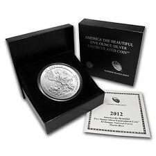 2012-P 5 oz Silver ATB Coin El Yunque, PR - America the Beautiful - SKU #69706