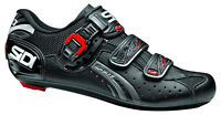 Sidi Genius 5 Fit Men's Carbon 3-bolt Road Shoes Regular Width Black
