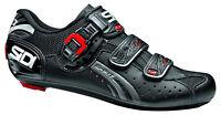 Sidi Genius 5 Fit Men's Carbon 3-bolt Road Shoes Regular Width Black
