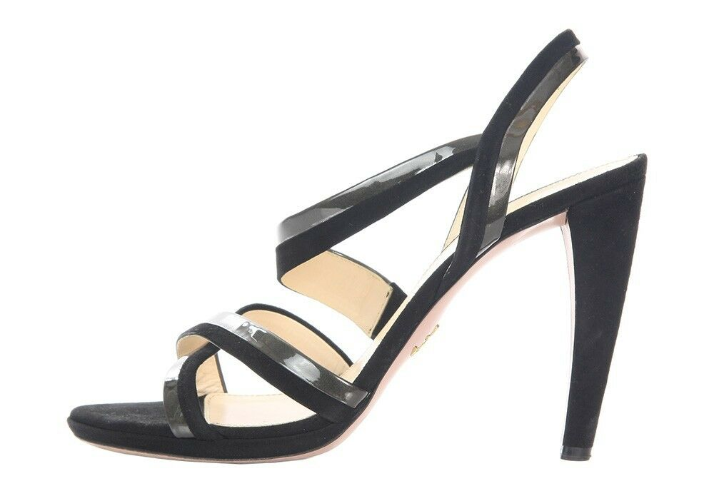PRADA Black Strappy Sandals, Size Size Size 40 10 shoes - Simple and elegant 80a8bf