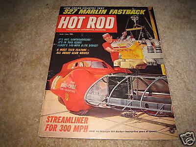 HOT ROD magazine June 1965 Marlin 327 Dick Landy Coronet Burke