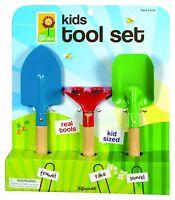 Toysmith Kid's 3-Piece Garden Sandbox Tool Play Set Garden