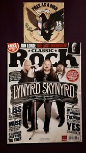 Classic-Rock-2-Magazine-Bundle-CDs-Lynyrd-Kiss-Jimi-Issue-175-177