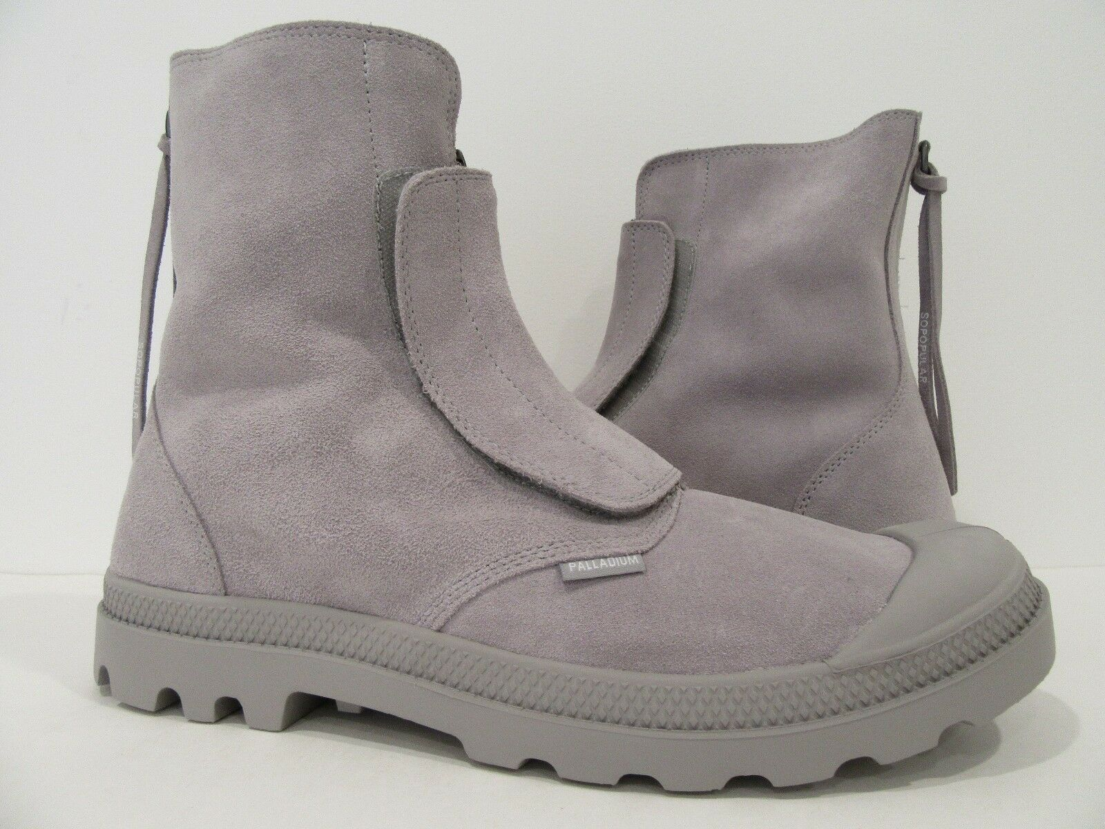 benvenuto per ordinare Palladium uomo Suede pampa hi sopopular Ankle Ankle Ankle stivali ash bianca  acquista marca
