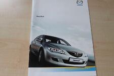 95004) Mazda 6 Prospekt 07/2004