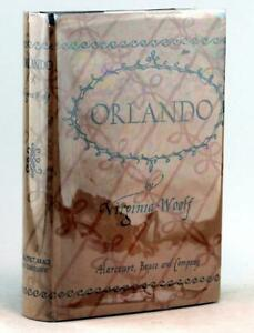 Virigina Woolf First Edition 1928 Orlando A Biography Hardcover w/Dustjacket