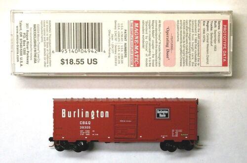 MTL Micro-Trains 73050 Chicago Burlington and Quincy CB/&Q 39305
