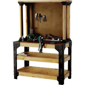 Fantastic Details About Workbench Kit Garage Work Bench Heavy Gauge Resin Legs Workshop Custom Size Machost Co Dining Chair Design Ideas Machostcouk