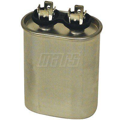 Mars run capacitor 40MFD x 370V Oval Aluminum #12021