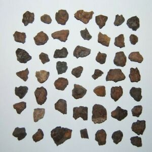 Moroccan-Chondrite-Stony-Meteorite-Space-Dust-Rock-Collection-4-6-Grams