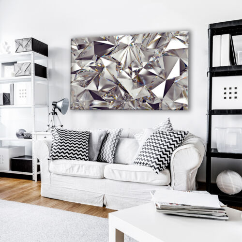 Abstract Canvas Prints Framed Wall Art Photo Picture Black Grey White Cool