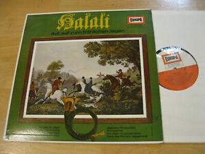 LP Halali Auf auf zum fröhlichen Jagen Silke Schomaker Gumtau Vinyl Europa E 167
