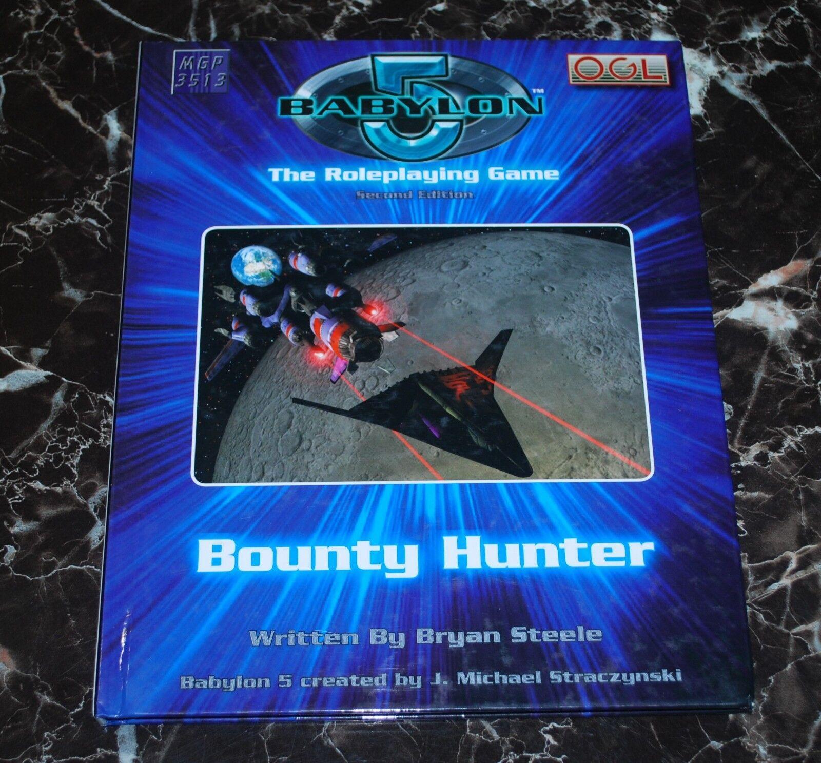 Babylon 5 RPG Bounty Hunter HC D20