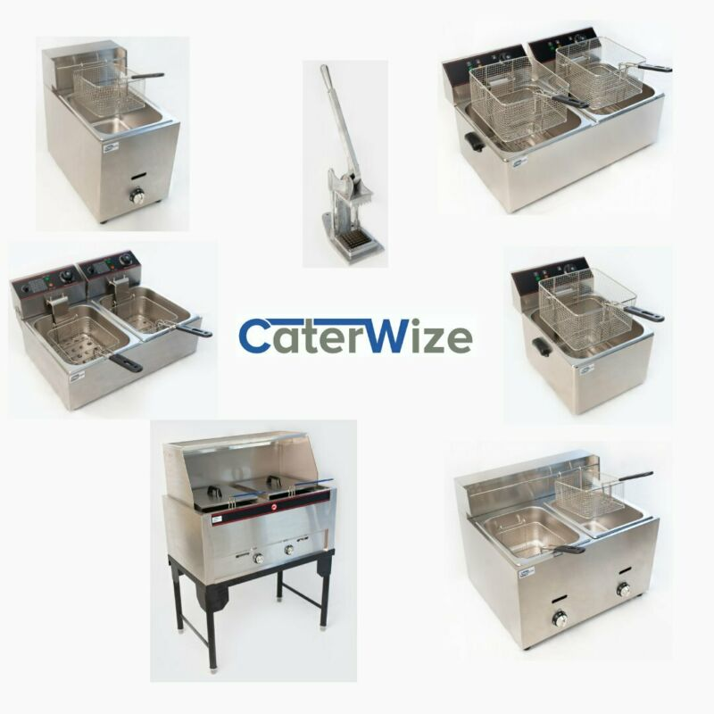 DEEP FRYERS, CHIP CUTTERS, WARMERS, GRILLERS, etc – NEW!!!