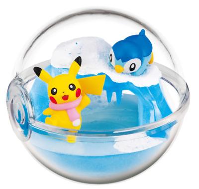 Pokemon Terrarium Collection Pokemon center origina Pikachu /& Caterpi Japan New