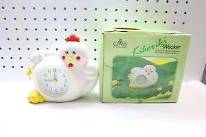 Nice Used Working Rhythm Chicken Alarm Clock - Sprechender Huhner Wecker Quartz