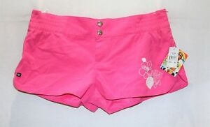 ROXY-Brand-Pink-Low-Rise-Board-Shorts-Size-14-BNWT-SC79