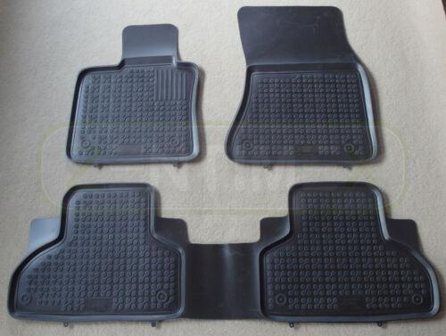 Caoutchouc tapis de sol pour BMW x5 f15 F 15 hayon range rover suv 5-porte 2013-Noir