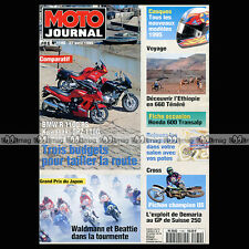 MOTO JOURNAL N°1180 YAMAHA XJ 900 S DIVERSION BMW R 1100 RS KAWASAKI GPZ 1100 95
