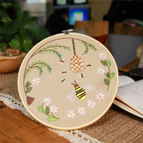 """Wooden Embroidery Cross Stitch Tapestry Ring Hoop Frame 4/"""" to 12/""""  Useful/_best"""