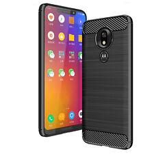 1c0b57deb38 DD For Motorola Moto G7 Plus Power Play Carbon Fibre TPU Rugged Gel Case  Cover